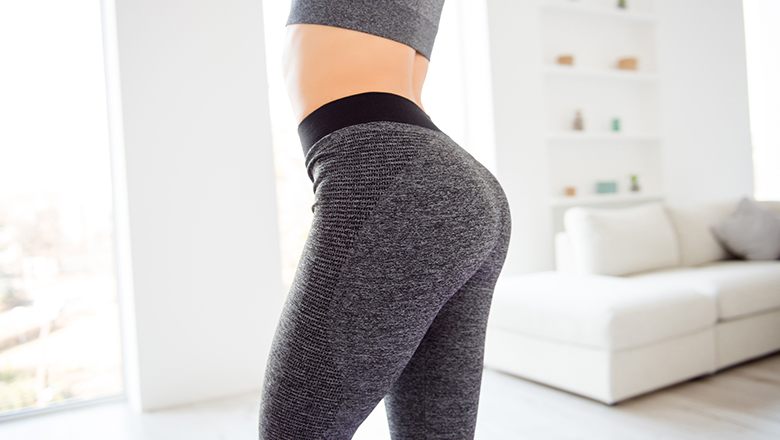 photo of a woman's buttocks