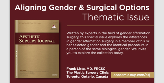 aesthetic surgery journal on gender affirmation